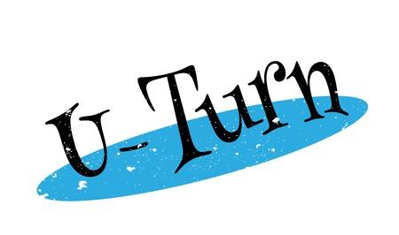 indecisive: U-Turn rubber stamp