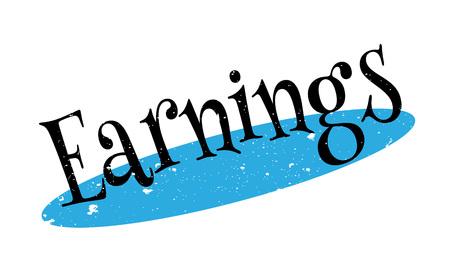 takings: Earnings rubber stamp
