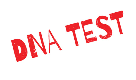Dna Test rubber stamp Illustration