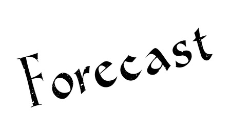 Forecast rubber stamp