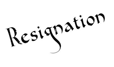 resignation: Resignation rubber stamp