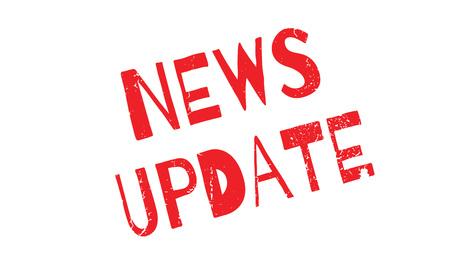news update: News Update rubber stamp Illustration