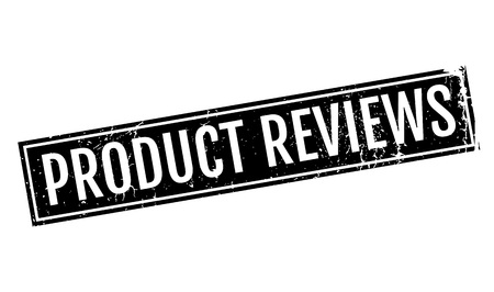 reviews: Product Reviews rubber stamp