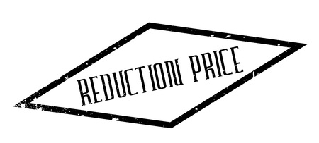 Reduction Price rubber stamp