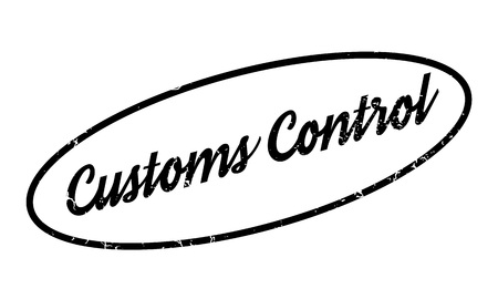 clout: Customs Control rubber stamp