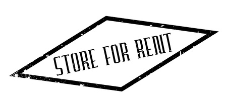 Store For Rent rubber stamp