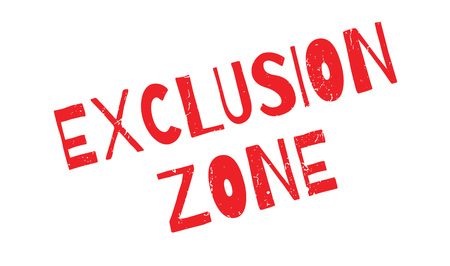 barring: Exclusion Zone rubber stamp
