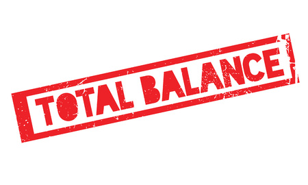 equipoise: Total Balance rubber stamp