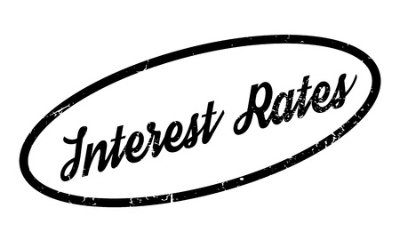 borrowing: Interest Rates rubber stamp
