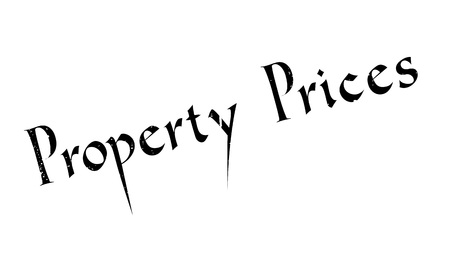 first house: Property Prices rubber stamp. Grunge design with dust scratches. Effects can be easily removed for a clean, crisp look. Color is easily changed.