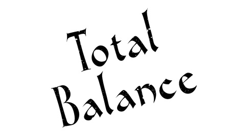 equivalence: Total Balance rubber stamp