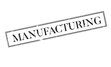 erection: Manufacturing rubber stamp. Grunge design with dust scratches. Effects can be easily removed for a clean, crisp look. Color is easily changed.