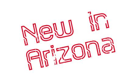 verde: New In Arizona rubber stamp