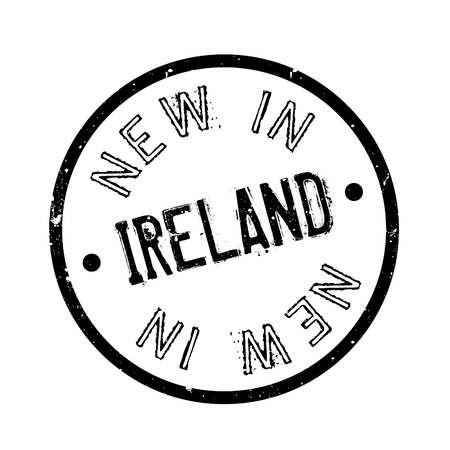 ulster: New In Ireland rubber stamp
