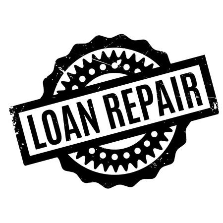 Sello de caucho de reparación de préstamos