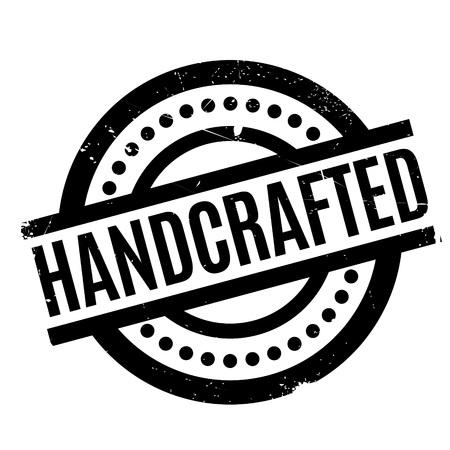 Handcrafted rubber stamp Illustration