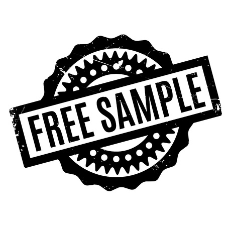 Free Sample rubber stamp Stock Vector - 77407965