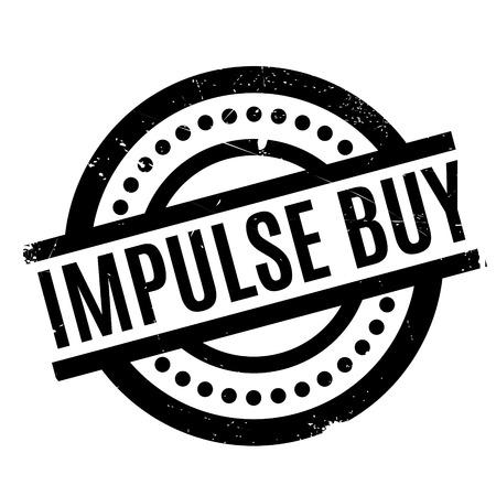 Impulse Buy rubber stamp