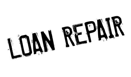 darn: Loan Repair rubber stamp
