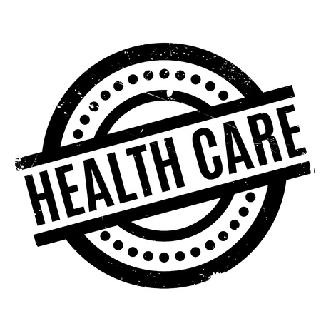 Health Care rubber stamp