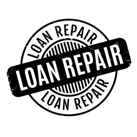 reformation: Loan Repair rubber stamp