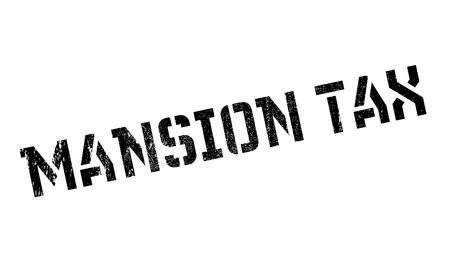 indirect: Mansion Tax rubber stamp Illustration