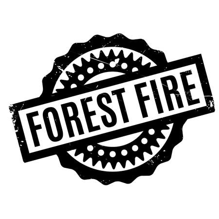 coppice: Forest Fire rubber stamp