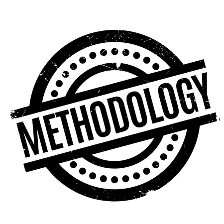 Methodology rubber stamp Stock Photo