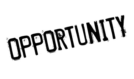 opportunity: Opportunity rubber stamp Illustration