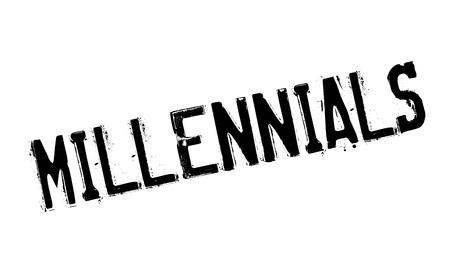 Millennials rubber stamp