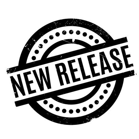 新しいリリースのスタンプ  イラスト・ベクター素材