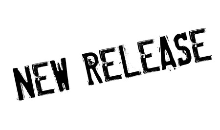 New Release rubberzegel Stock Illustratie