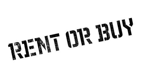 landlady: Rent Or Buy rubber stamp
