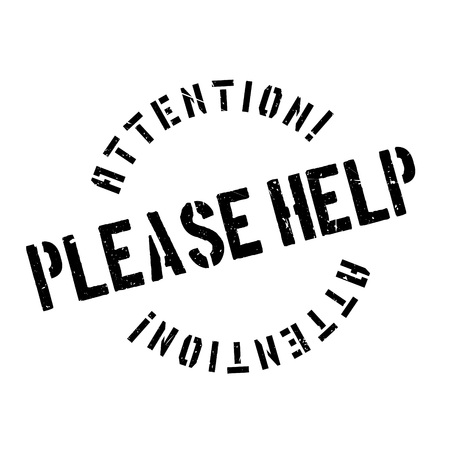 Please Help rubber stamp