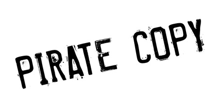 Pirate Copy rubber stamp