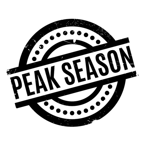 Peak Season rubber stamp