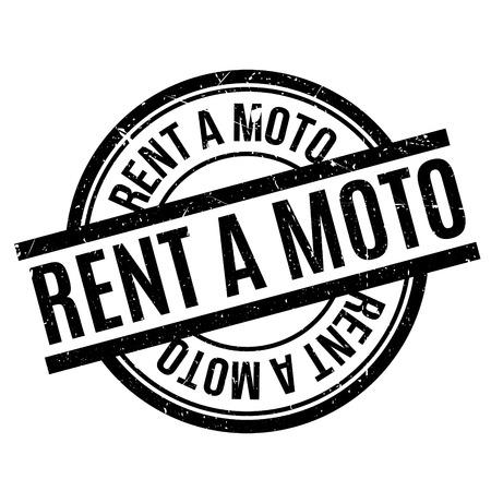 landlady: Rent A Moto rubber stamp