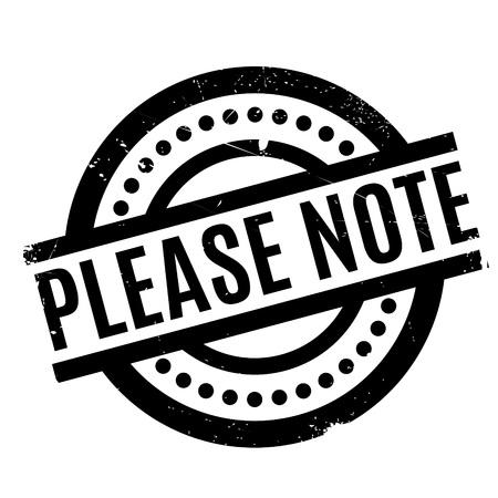 Please Note rubber stamp 版權商用圖片 - 77466535