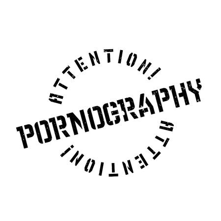 ポルノグラフィーのゴム印