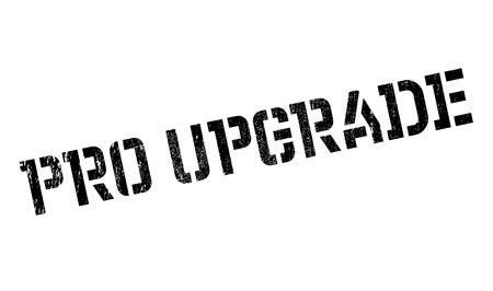 refreshed: Pro Upgrade rubber stamp Illustration