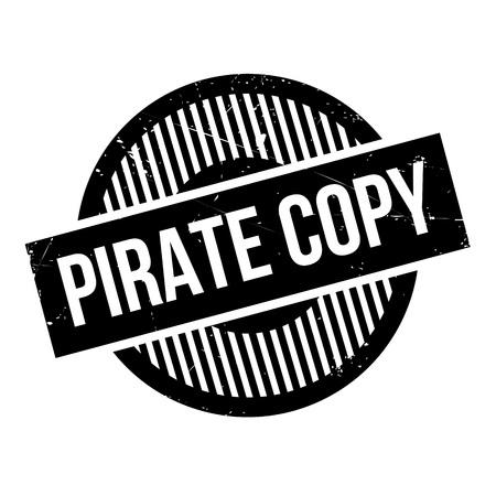 copy: Pirate Copy rubber stamp