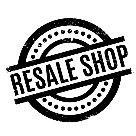 resale: Resale Shop rubber stamp Illustration