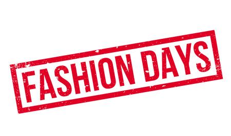 Fashion Days rubber stamp