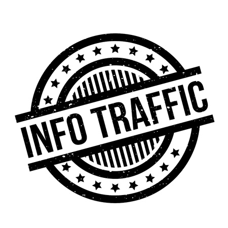 missive: Info Traffic rubber stamp