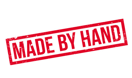 phalanges: Made By Hand rubber stamp