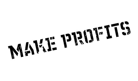 forge: Make Profits rubber stamp Illustration