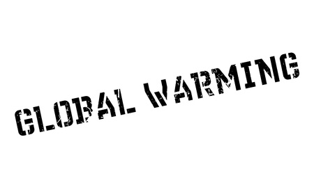 unsustainable: Global Warming rubber stamp