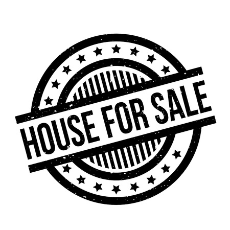 House For Sale rubber stamp