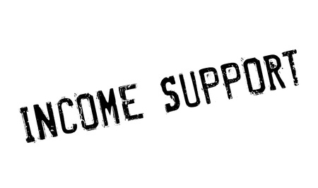 Income Support rubber stamp Stock Vector - 77678739