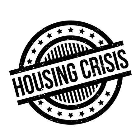 first house: Housing Crisis rubber stamp